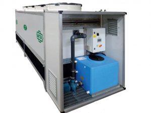 Adiabatische gas koelers/condensors